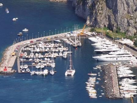 porto turistico Capri