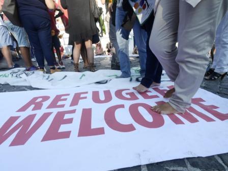 immigrati - marcia