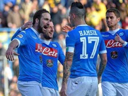 Napoli campione d'inverno