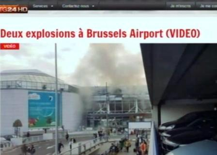 bombe Bruxelles