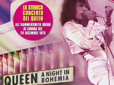 Queen night in Bohemia