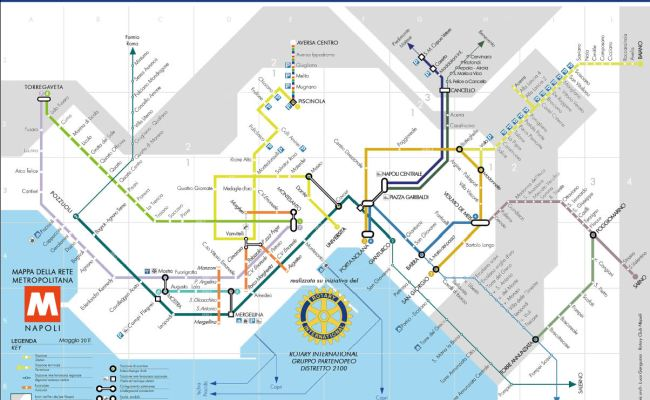 Naples Metro Map Napoli Unplugged