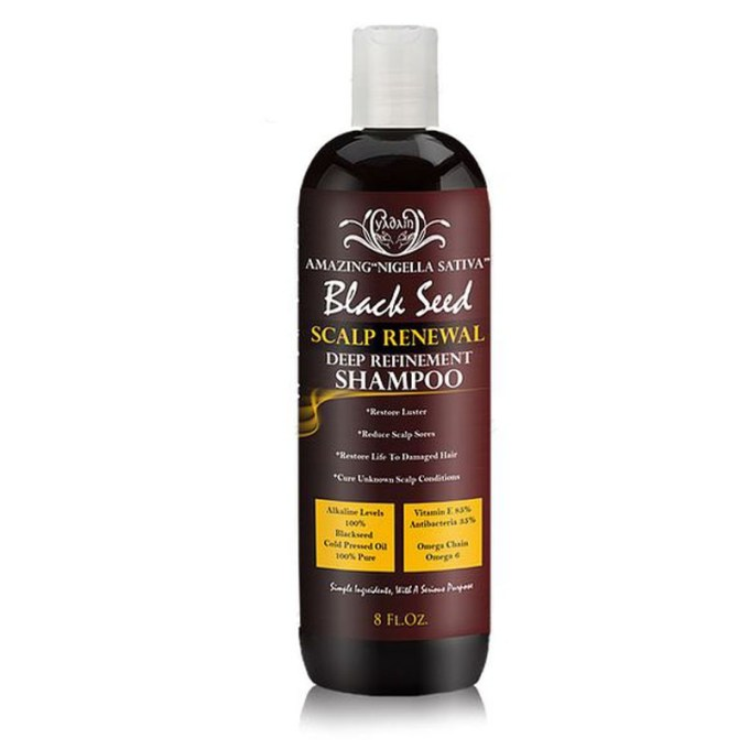 Blackseed Scalp Renewal Deep Refinement Shampoo