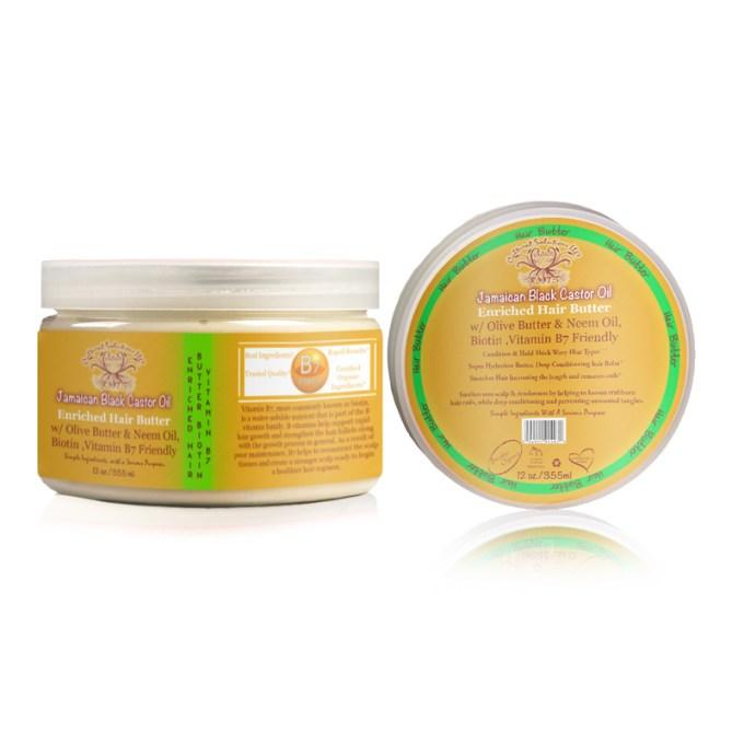 Jamaican Black Castor Oil Deep Conditioning, Hair Butter 12oz