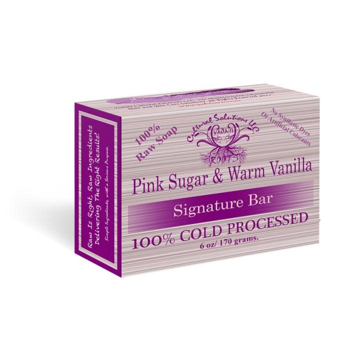 Pink Sugar & Warm Vanilla Seductive Bar