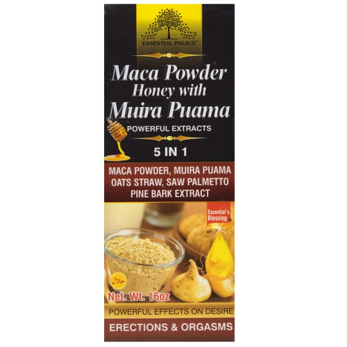 Maca Powder Honey Muira Puama