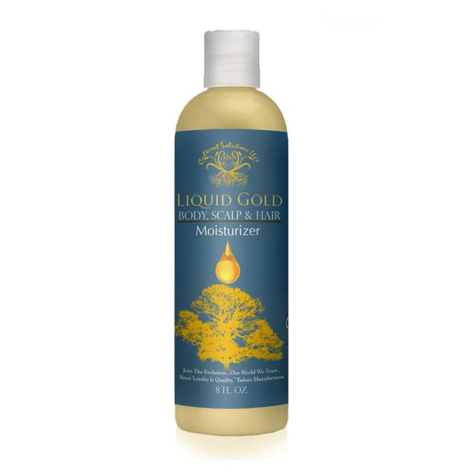 Liquid Gold Body Scalp Hair Moisturizer