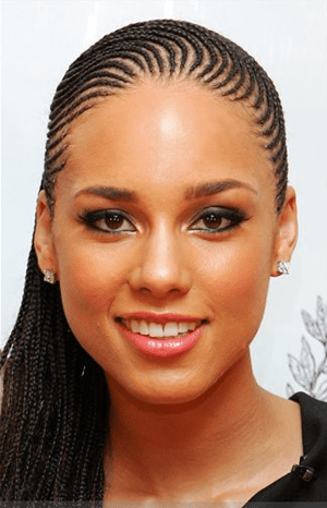 Alicia Keys - Corn row