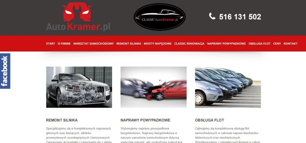 Mechanik Samochodowy Warszawa - Auto Kramer