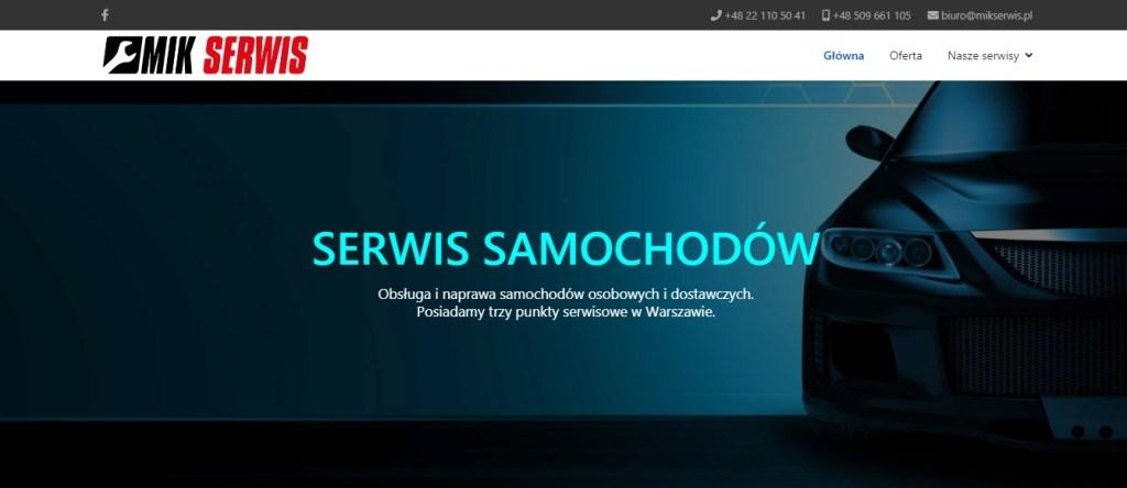 Mik Serwis - Serwis Samochodów w Warszawie