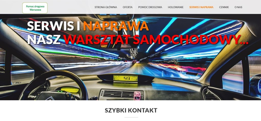 Serwis 24h – naprawa samochodów w Warszawa