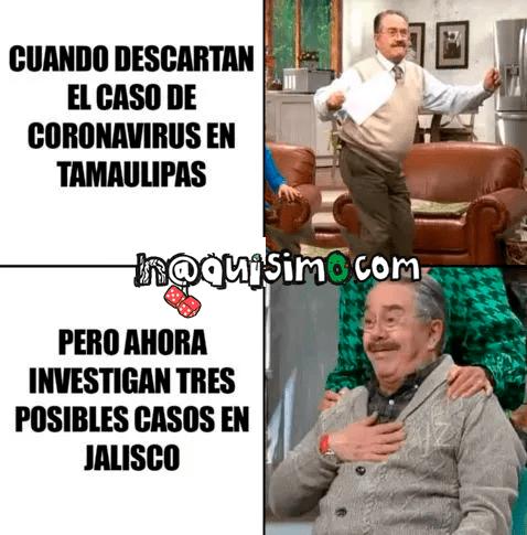 memes coronavirus guadalajara