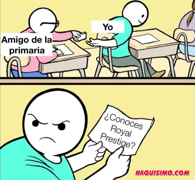 Memes royal prestige