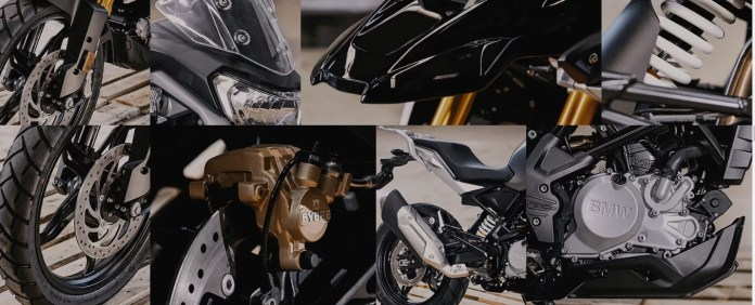 bmw G310GS features