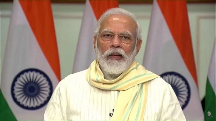 PM Narendra Modi launches Garib Kalyan Yojana