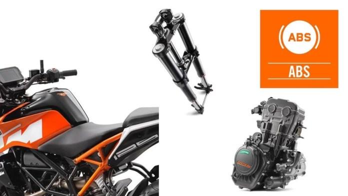 2021 KTM Duke 125 Details
