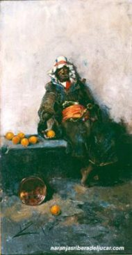 Joaquin-Sorolla-moro-con-naranjas-ribera-del-jucar