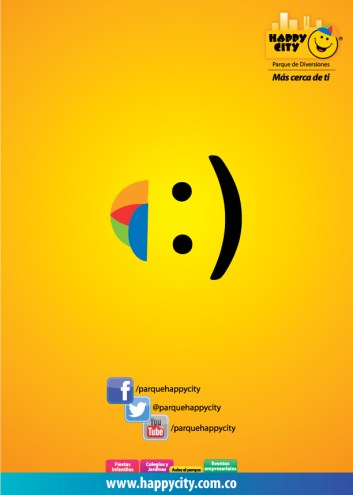 Aviso Happy CIty Emoji.