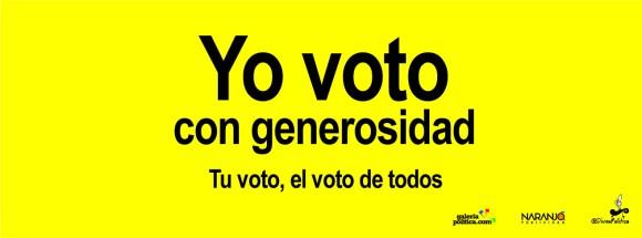 Campaña voto limpio