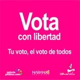 Vota con libertad