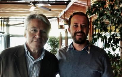 Raúl Peralba y Carlos Naranjo