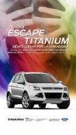 Publicidad de Escape Titanium de El Roble Motor