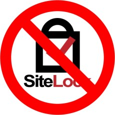 No recomendamos SiteLock