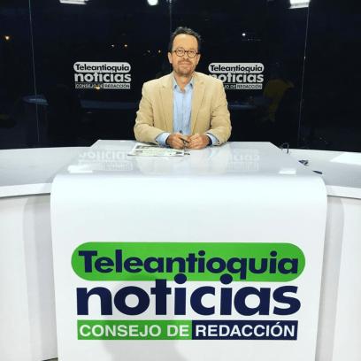 Analista Político Teleantioquia Noticias Consejo de Redacción.