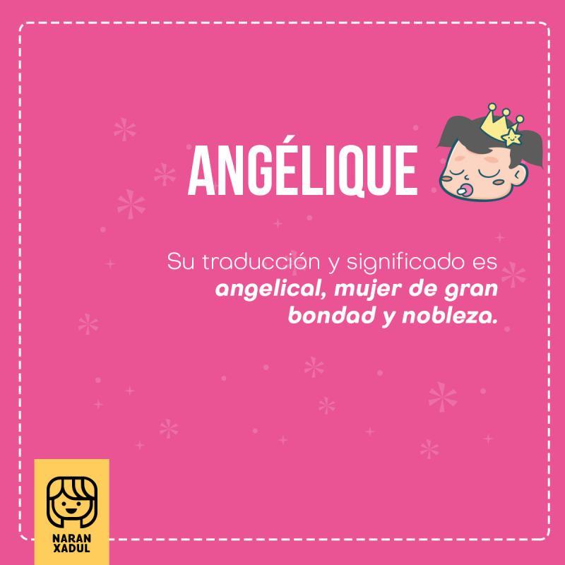 Angelique | Naranxadul