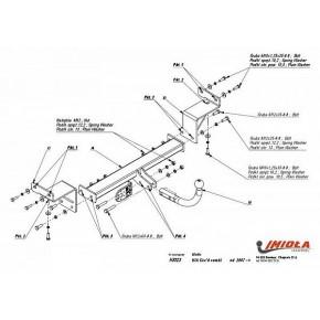 фаркоп для kia ceed (киа сид) sporty wagon (универсал