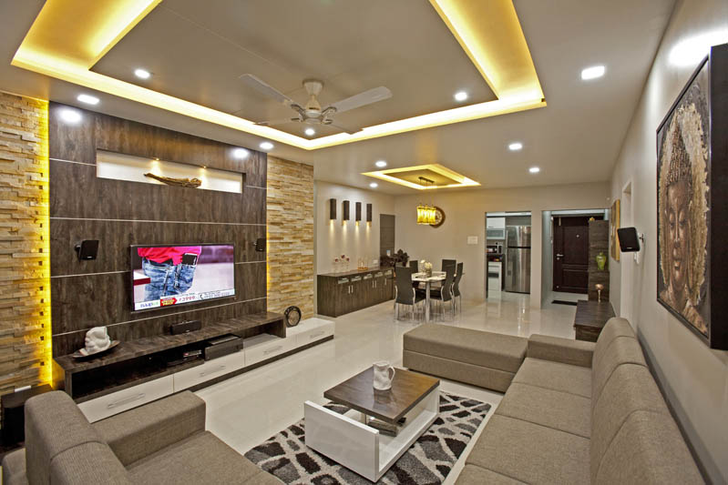 pictures of kitchen designs chair cushions interior for living room, tv room interiors, pune ...