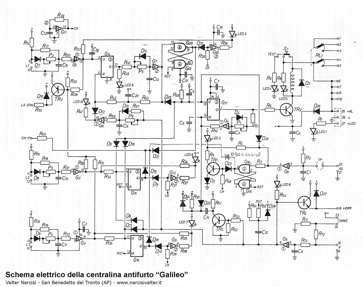 alarm circuit diagram use case vending machine burglar pdf