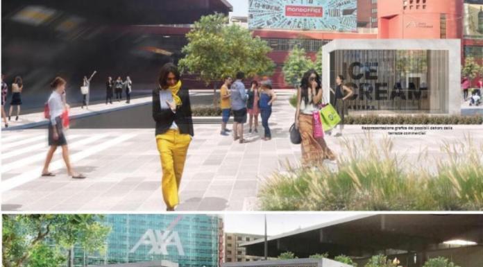 Stazione Garibaldi: rendering nuova piazza.