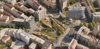Piazzale Loreto cambia look. Da anonimo spartitraffico a grande Agorà verde.
