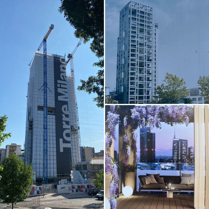 Torre Milano. Abbiamo visitato il cantiere. Qualche riflessione sulle nuove residenze verticali di Milano.