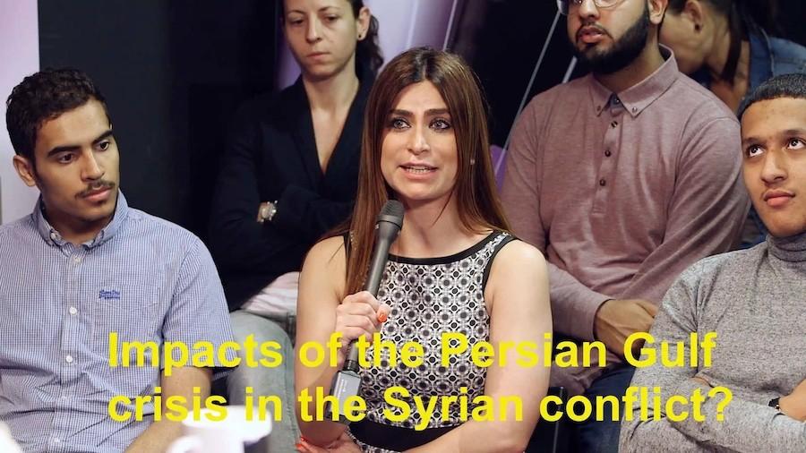 Kalima Horra-Gulf-Crisis Impact of thr Persian Gulf Crisis Almayadeen George Galloway Narcissi Dr Halla Diyab