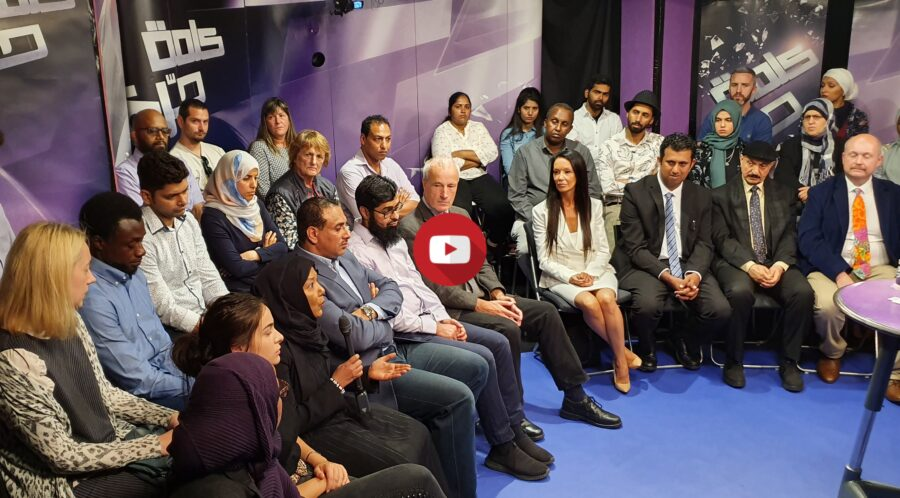 Yemen people - Kalima Horra show on Almayadeen hosted by George Galloway produced by Narcissi - YouTube cover