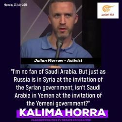 Julian Morrow 20 June 2018 Gulf Crisis One Year on