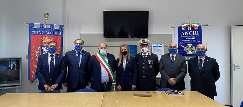 IRENE COPPOLA E GIUSEPPE PARISI CAVALIERI AL MERITO DELLA REPUBBLICA ITALIANA