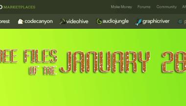 FREE Premium ThemeForest template, video, audio effect