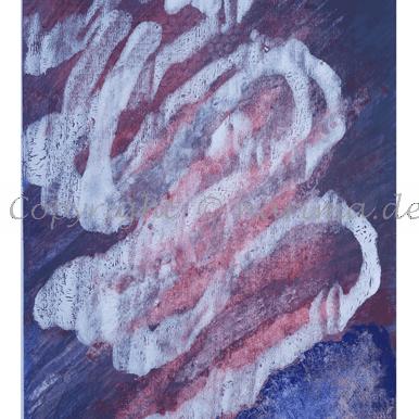085 - ohne Titel - 2020/03 Original: Acryl auf Vlies - ca. 45 x 70 cm