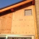 「DIYでサンルーム温室9」外壁下地編