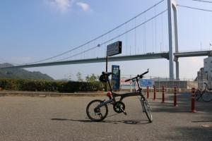 Bianchi Frettaと橋