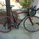 Myロードバイクの紹介(SPECIALIZED Roubaix SL4)