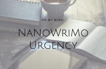 NaNoWriMo Urgency