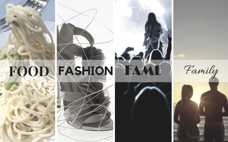 Work In Progress: Food Fashion Fame and Family