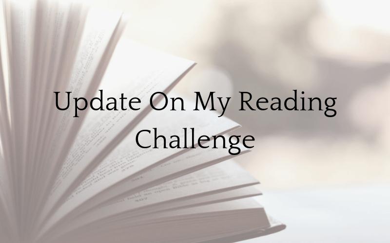 Update On My Reading Challenge