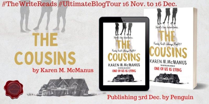 Book Tour: The Cousins by Karen M McManus