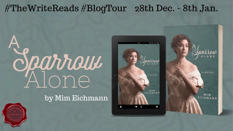 Booktour: A Sparrow Alone by Mim Eichmann