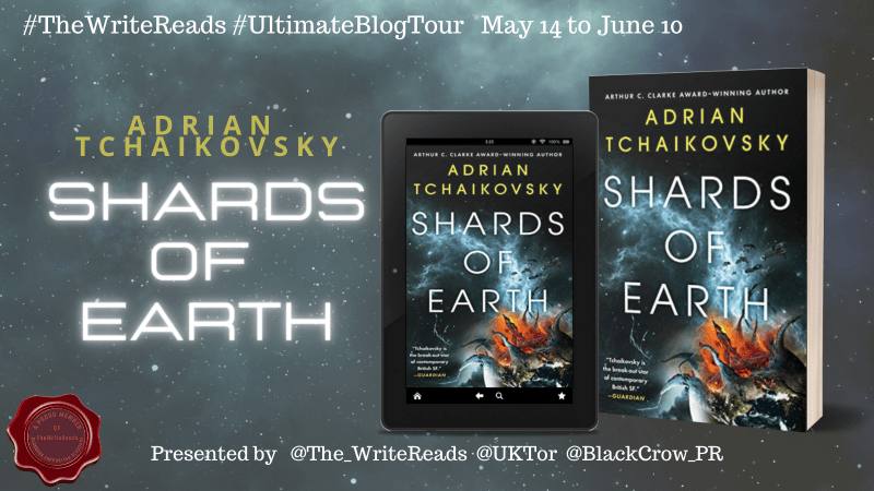 Book Tour: Shards of Earth - Adrian Tchaikovsky